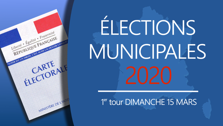 Elections municipales - Premier tour 2020