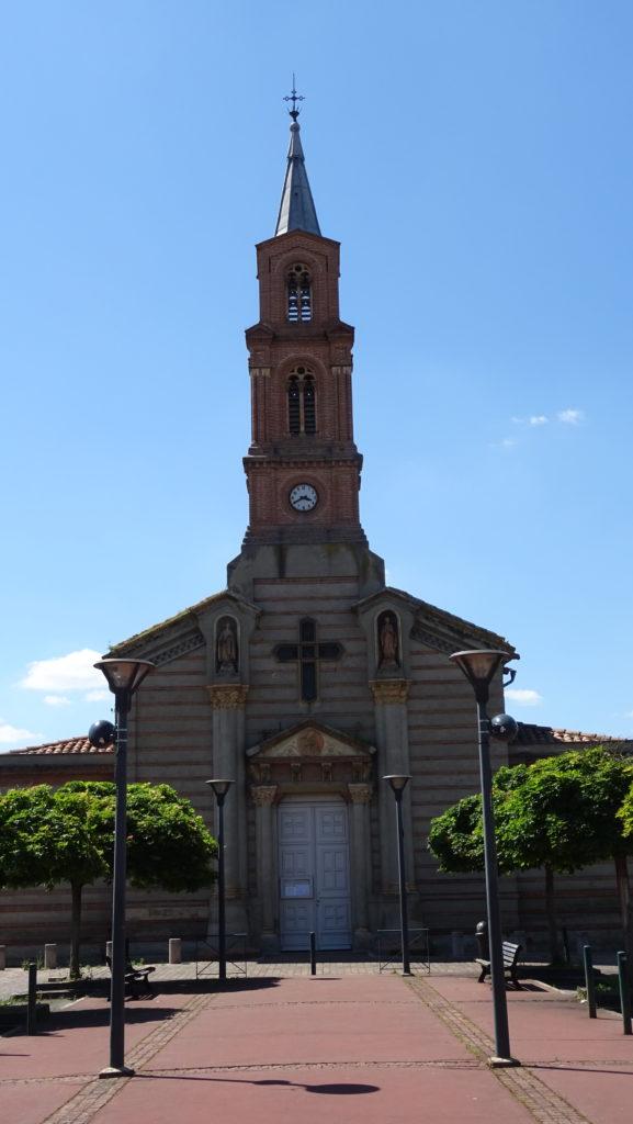 Eglise Notre-Dame et son parvis