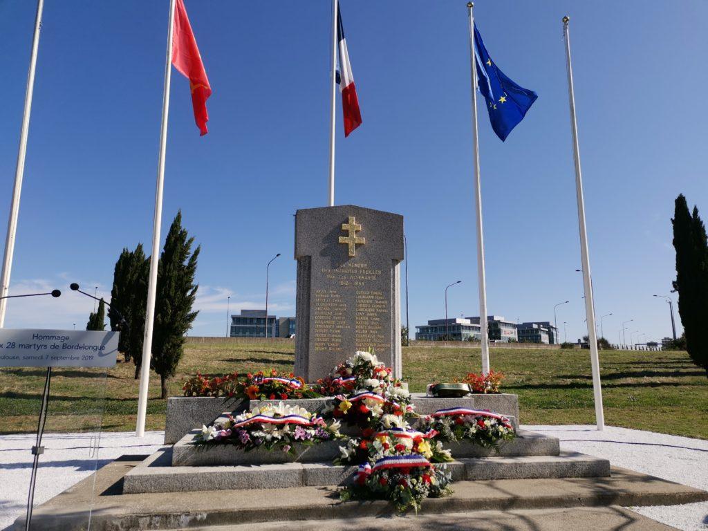 Stèle des Martyrs de Bordelongue
