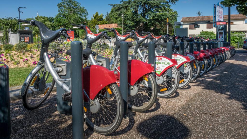 Vélo Toulouse - Place des Glières