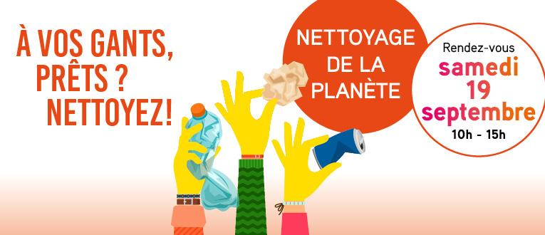 Toulouse Métropole - World CleanUp Day 2020