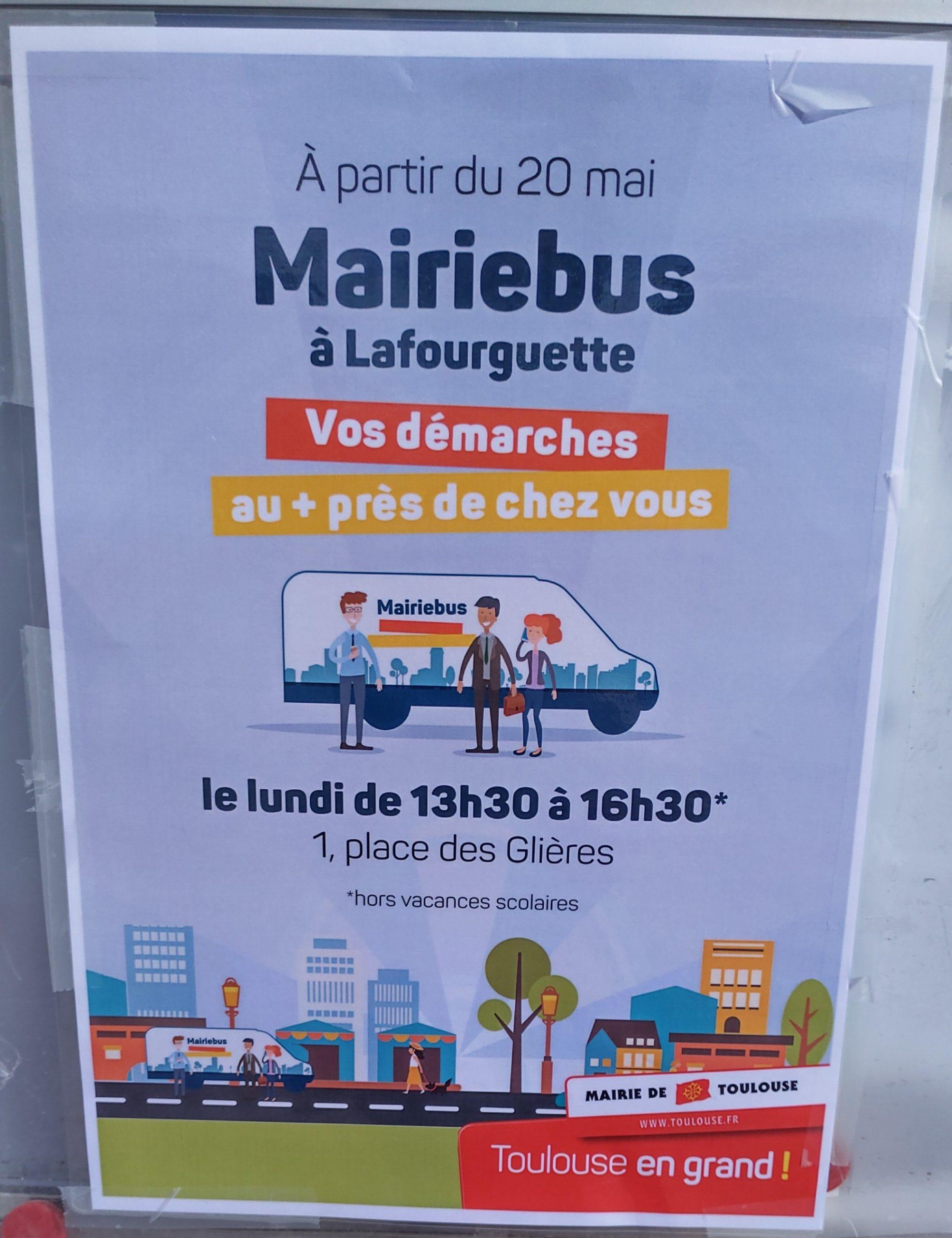 MairieBus - le lundi de 13h30 à 16h30