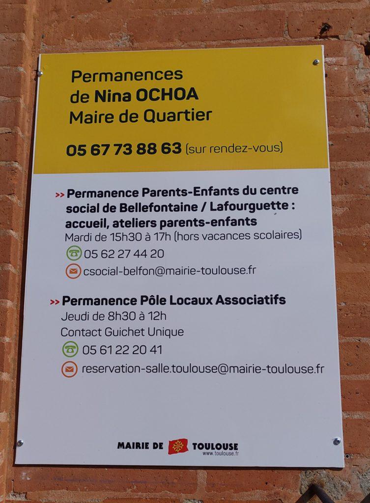 Permanence de la Maire de Quartier