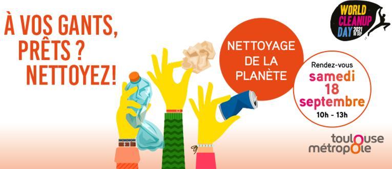 Toulouse Métropole - World CleanUp Day 2021